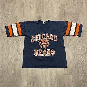 Vintage Logo 7 NFL Chicago Bears Shirt